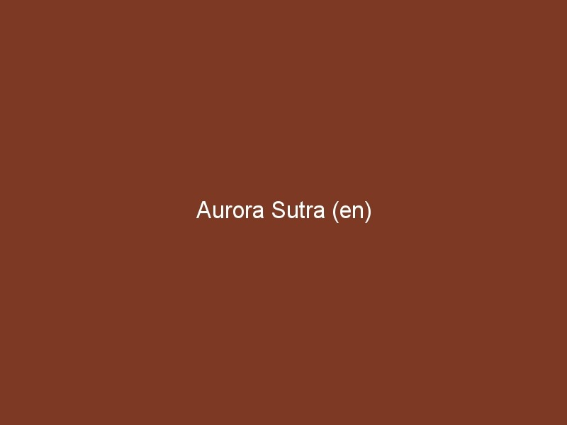 Aurora Sutra (en)