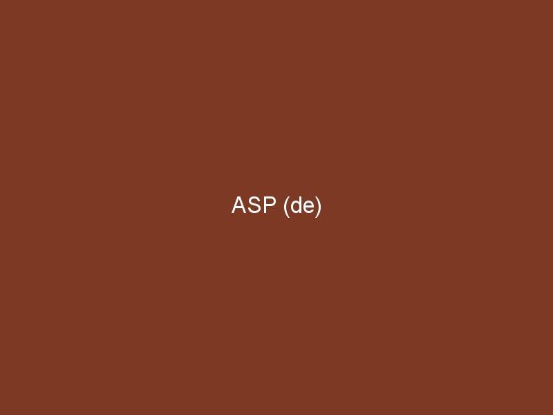 ASP (de)