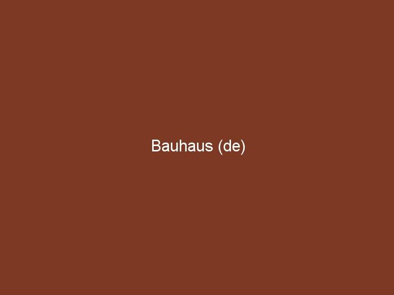 Bauhaus (de)