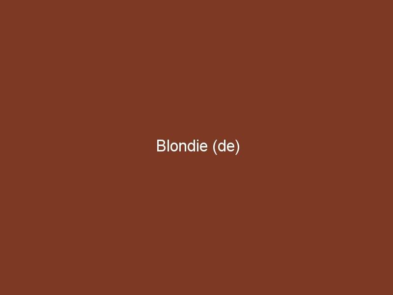 Blondie (de)