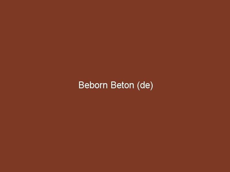 Beborn Beton (de)